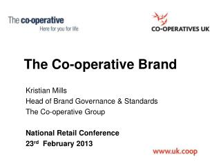 The Co-operative Brand