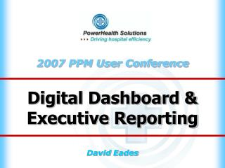 Digital Dashboard & Executive Reporting