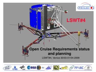Open Cruise Requirements status and planning