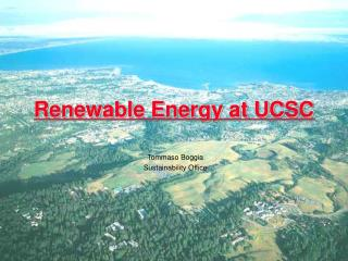 Renewable Energy at UCSC
