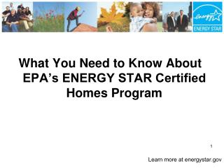 What You Need to Know About EPA's ENERGY STAR Certified Homes Program