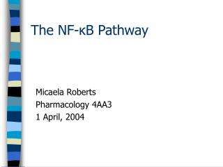 The NF-?B Pathway