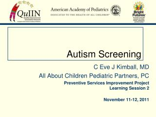 Autism Screening