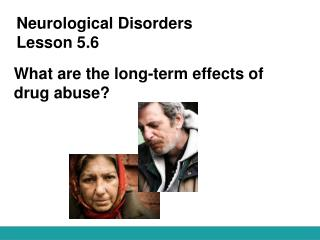 Neurological Disorders Lesson 5.6
