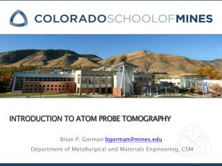 Introduction to Atom Probe Tomography