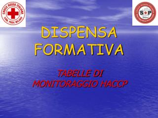 DISPENSA FORMATIVA