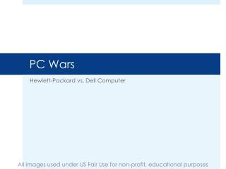 pc wars hewlett packard vs dell