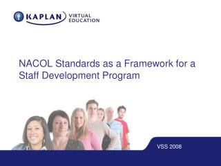 NACOL Standards as a Framework for a Staff Development Program