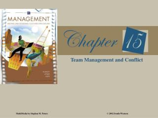 Team Management and Conflict
