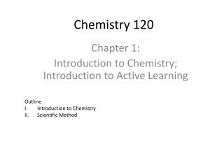 Chemistry 120