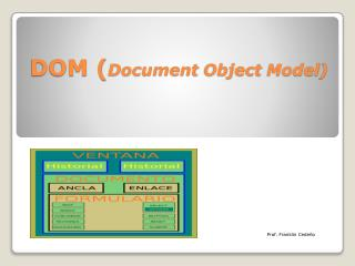 DOM  ( Document Object Model )