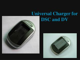 Universal Charger for DSC and DV