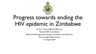Responding to the sexual and reproductive health needs of PLHIV: Where are we