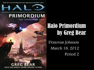 Halo Primordium by Greg Bear