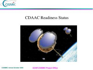CDAAC Readiness Status
