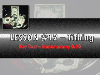 LESSON #12 – Tithing
