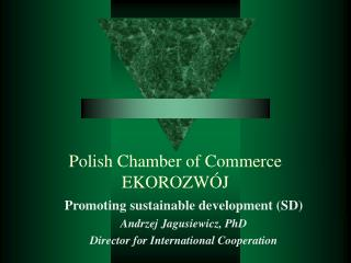 Polish Chamber of Commerce EKOROZWÓJ