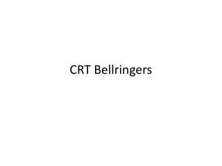 CRT Bellringers