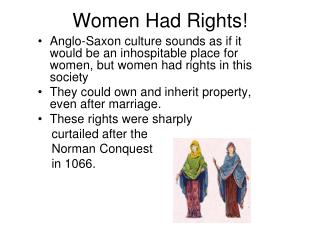 Women Had Rights!