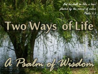 Two Ways   of Life