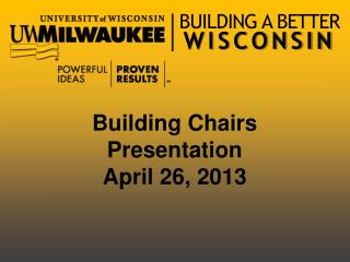 BUILDING A BETTER  WISCONSIN