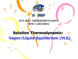 Solution Thermodynamic: