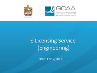 E-Licensing Service  (Engineering)