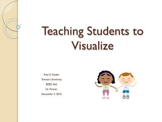 Teaching Students to Visualize