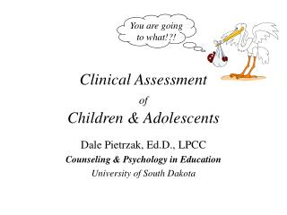 Clinical Assessment of Children & Adolescents