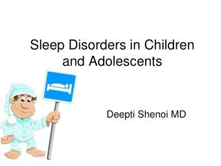 Sleep Disorders in Children and Adolescents