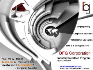 BFG Corporation: Industry Interface Program (IIP)