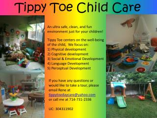 Tippy Toe Child Care