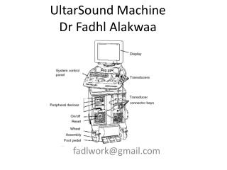 UltarSound  Machine Dr  Fadhl Alakwaa