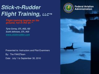 Stick-n-Rudder  Flight Training,  LLC™
