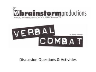 Discussion Questions & Activities