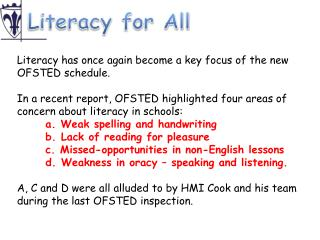 Literacy for All