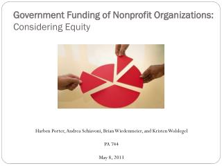 Government Funding of Nonprofit Organizations: Considering Equity