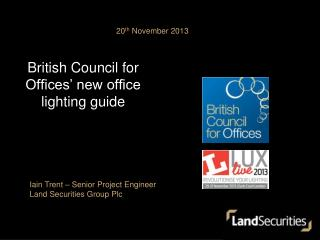 British Council for Offices' new office lighting guide
