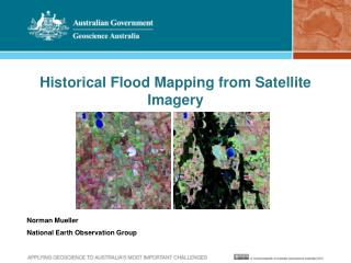 Historical Flood Mapping from Satellite Imagery