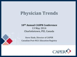 Physician Trends