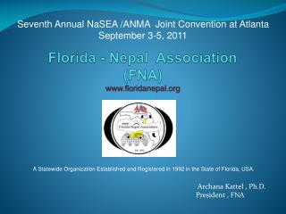 Florida - Nepal  Association  (FNA ) floridanepal