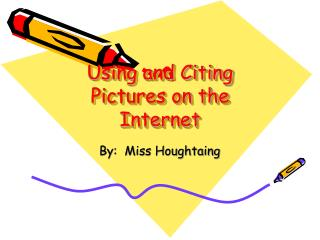 Using and Citing Pictures on the Internet