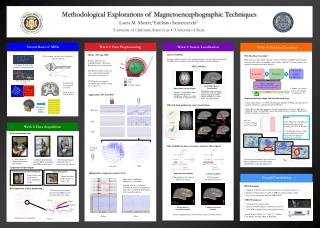 Methodological Explorations of  Magnetoencephographic  Techniques
