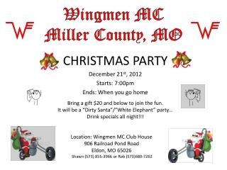 Wingmen MC Miller County, MO