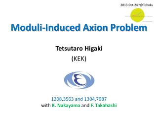 Moduli -Induced  Axion  Problem