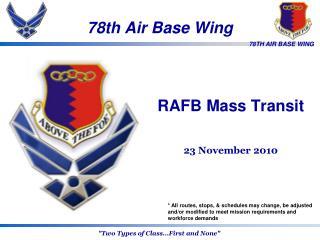 78th Air Base Wing