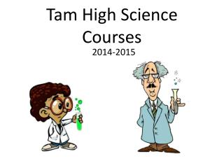 Tam High Science Courses