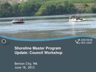 Shoreline Master Program Update: Council Workshop