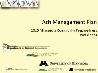 Ash Management Plan