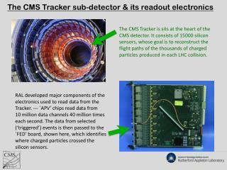 The CMS Tracker sub-detector & its readout electronics